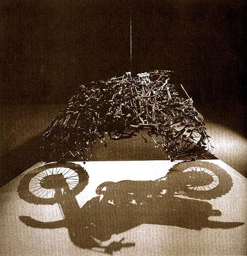 motorbike Shigeo Fukuda