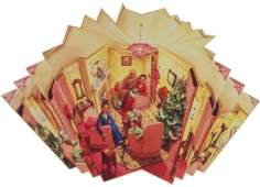 Fig 1. Christmas Mirror (1947)