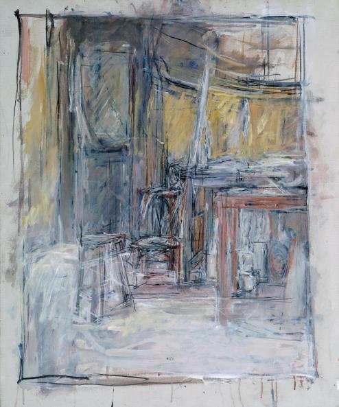 Interior 1949 by Alberto Giacometti 1901-1966