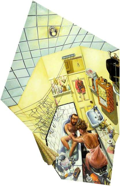Fig 4. The Bathroom at Number 29 (1979)