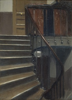 Fig 18. Stairway at 48 rue de Lille (1906)