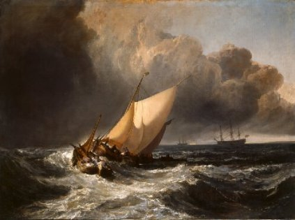 Fig 6. Dutch Boats in a Gale (1801)