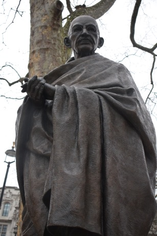Fig. 1. Gandhi Statue (2017)